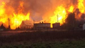 В Польше взорвался газопровод